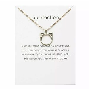 Cats lovers necklace